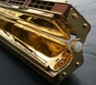 24kt Gold Plated Hohner 267/384 48 Chord Harmonica