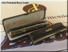 EastTop Brass 64 Chromatic Harmonica