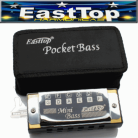 EastTop Pocket Bass Harmonica