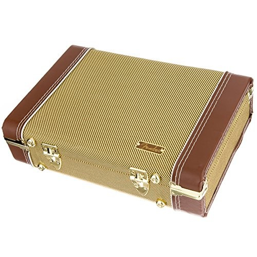 Fender Tweed Mississippi Saxophone Harmonica Case Rw