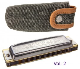 Hohner Remaster Vol II Collector's Edition with Pouch Key of C