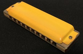 Seydel 1847 Classic Harmonica with Safety Yellow Cover Plates