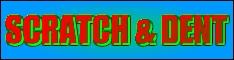 Scratch & Dent Items