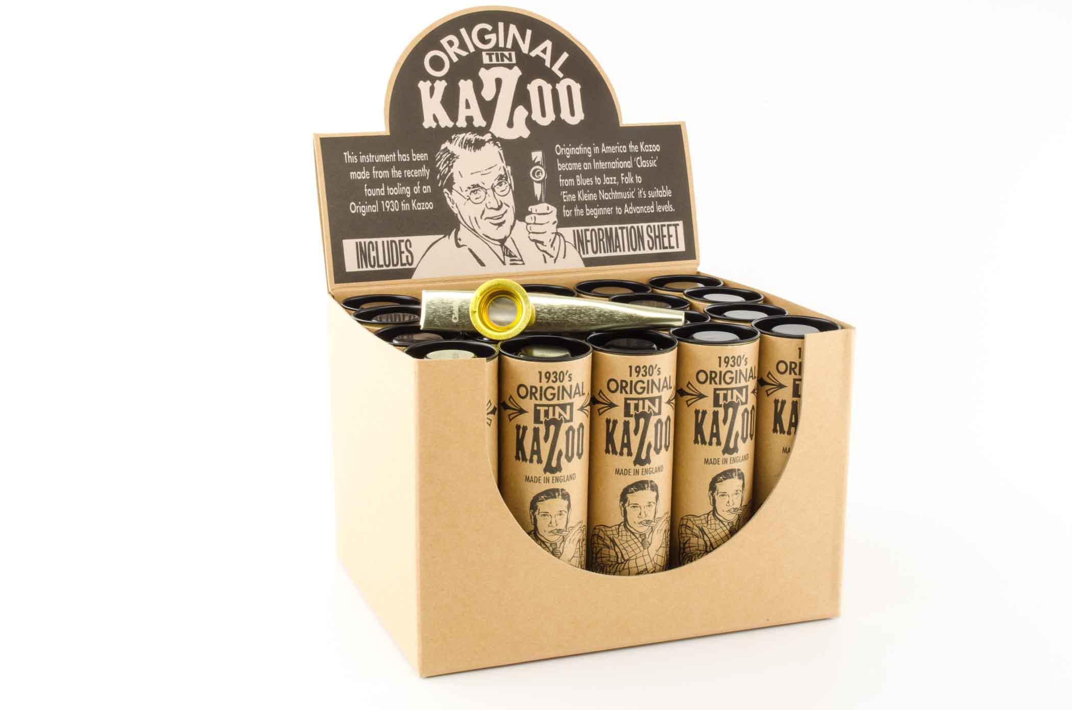 premium xl kazoo gold 20 pack rw harmonicas. Black Bedroom Furniture Sets. Home Design Ideas
