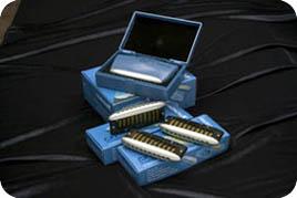 Electric Blues Harp + keys A, D, Eb, F, G  - RW Harmonicas